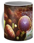 Inner Workings Of A Human Cell Coffee Mug