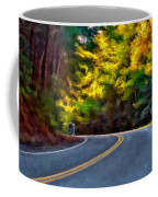 Into The Sunset Watercolor Coffee Mug
