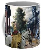 Italian Greyhound Art Canvas Print  Coffee Mug