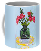Jeff's Vase And Rodger's Roses Coffee Mug