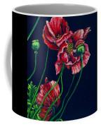 Kara's Poppies Coffee Mug