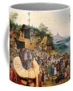 Korthals Pointing Griffon Art Canvas Print Coffee Mug
