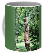 Lady At The Fountain Coffee Mug