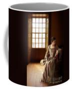 Lady In 16th Century Clothing With A Mandolin Coffee Mug