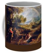 Landscape With A Rainbow Coffee Mug