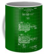 Laser Patent 1958 - Green Coffee Mug