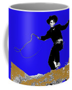 Lash Larue Bull Whip Publicity Photo Coffee Mug