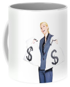 Laughing All The Way To The Bank Coffee Mug