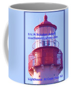 Lighthouse At Cape May Coffee Mug