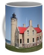 Lighthouse - Mackinac Point Michigan Coffee Mug