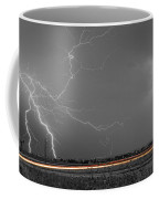 Lightning Thunderstorm Dragon Coffee Mug by James BO  Insogna