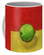 Lime With Red And Gold Coffee Mug