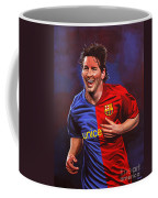 Lionel Messi  Coffee Mug by Paul Meijering