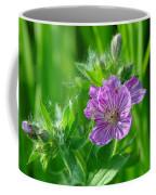 Little Blue Flowers Coffee Mug