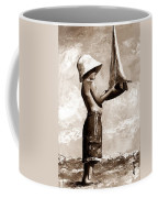 Little Boy In The Beach Coffee Mug