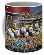 Lobster Fishing Coffee Mug by Elena Elisseeva