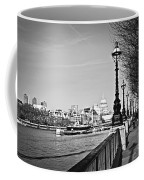 London View From South Bank Coffee Mug