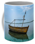 Lonely Boat Coffee Mug by Jean Noren