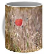 Lonely Poppy Coffee Mug