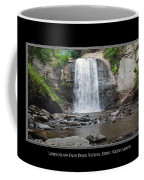 Looking Glass Falls North Carolina Coffee Mug