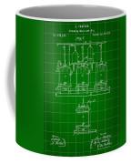Louis Pasteur Beer Brewing Patent 1873 - Green Coffee Mug