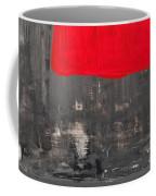 Love And Shadow Abstract Coffee Mug