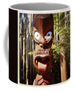 Maori Carving Coffee Mug