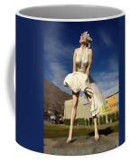 Marilyn In Palm Springs Coffee Mug