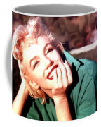Marilyn Monroe Large Size Portrait Coffee Mug