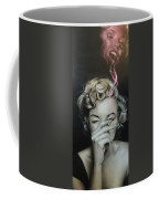 Marilyn's Crimson Haze Coffee Mug