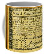 Massachusetts Banknote Coffee Mug