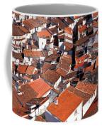 Medieval Town Rooftops Coffee Mug