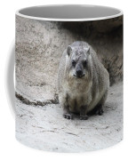 Rock Hyrax Headshot Coffee Mug