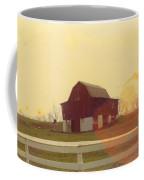 Michigan Barn Coffee Mug