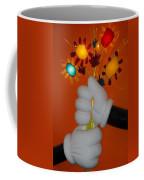 Mickeys Flowers Coffee Mug