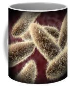 Microscopic View Of Paramecium Coffee Mug by Stocktrek Images