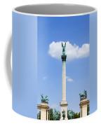 Millennium Monument In Budapest Coffee Mug