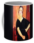 Modigliani's Madame Amedee -- Woman With Cigarette Coffee Mug