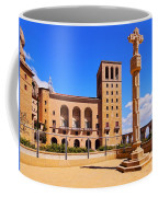 Monastery In Montserrat Coffee Mug