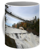 Montmorency Waterfall  Canada Coffee Mug