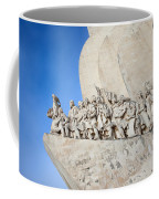 Monument To The Discoveries In Lisbon Coffee Mug