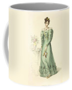 Morning Dress, Fashion Plate Coffee Mug