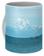 Mount Redoubt Across Cook Inlet From Ninilchik-ak   Coffee Mug
