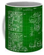 Mouse Trap Board Game Patent 1962 - Green Coffee Mug