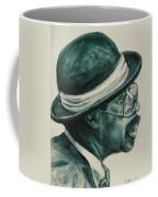 Mr Bowler Mustache Coffee Mug