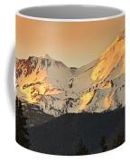 Mt. Shasta Sunset Panorama Coffee Mug