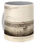 New York City, 1840 Coffee Mug