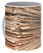 Newspaper Stack Coffee Mug