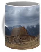 North Moulton Barn Grand Tetons Coffee Mug