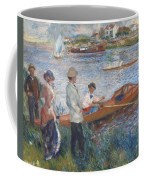 Oarsmen At Chatou Coffee Mug